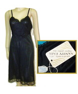 Vintage 50s nylon full slip lace Vanity Fair med B34 deadstock - $24.95