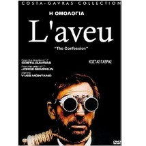 The Confession COSTAS GAVRAS - L'AVEU -Yves Montand - ALL REG SEALED DVD - $19.90