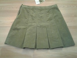 Cute Juicy Couture Corduroy Pleated Skirt Size M NWT - $23.52