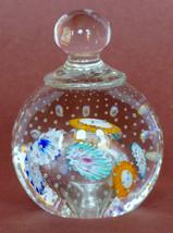 Mid Century Murano Italy Venetian Glass Paperweight Bell Shape Hand Made - $115.00