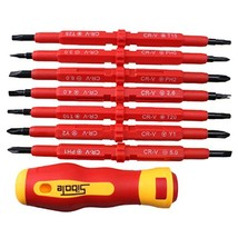 AGPtEK Insulated Electrical Screwdriver Phillip... - $19.84