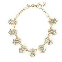 J.Crew Womens DAZZLING PEBBLE NECKLACE~*Crystal... - $55.00