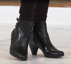 Sam Edelman Maddox Leather or Suede Bootie, Black 10.5M - $59.40