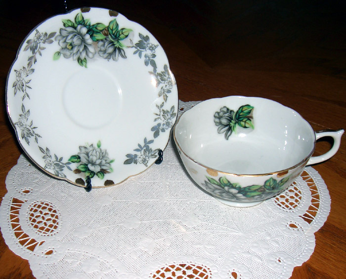 Lefton China vintage cup and saucer
