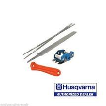 "Husqvarna Chain Sharpening File Kit 505698191 3/8"" file guide depth gauge - $29.99"