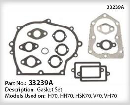 REBUILD OVERHAUL GASKET SET 33239a TECUMSEH H HH V 70 - $51.99
