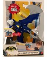 DC Comics Batman Mechs vs Mutants 2-in-1 BATMAN BLASTER  Works with Migh... - $10.14
