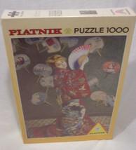 CLAUDE MONET La Japonaise 1000 Piece PUZZLE Piatnik of Austria Art NEW  - $49.50