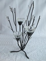 10 Black Candelabra Candleholder Wedding Centerpieces Set - $97.00