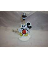 FREE SHIPPING WALT Disney numbers mickey mouse lamp light vintage toy - $39.99