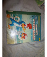Free Ship Vintage Little Golden Book Woody Woodpecker takes a trip Walte... - $4.99