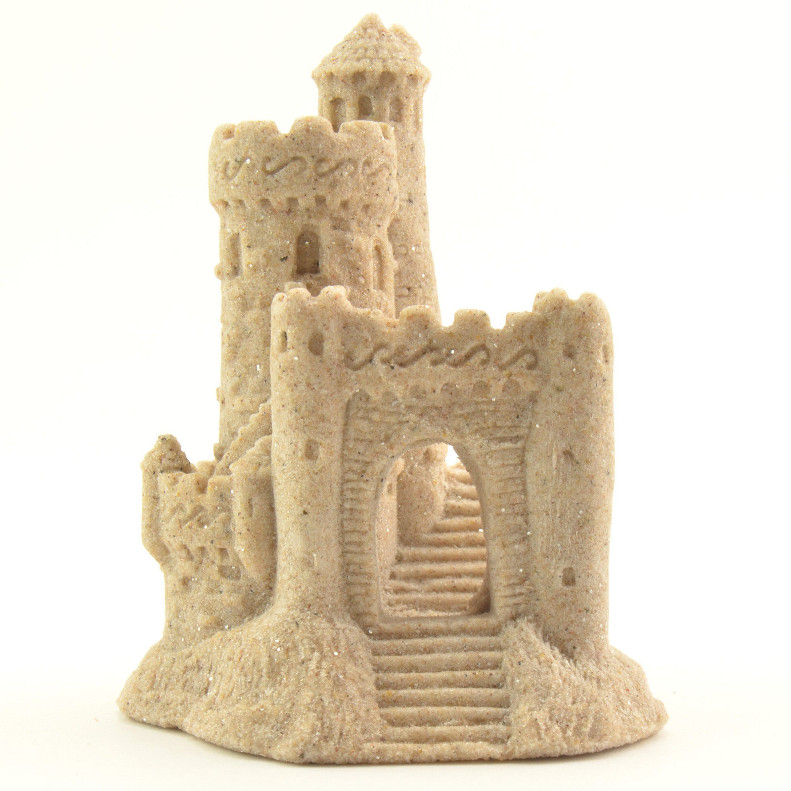 "Primary image for Real Sand Castle Figurine 118 4"" Tall Collectible Beach Home Wedding Decor N"