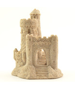 """Real Sand Castle Figurine 118 4"""" Tall Collectible Beach Home Wedding Dec... - $14.99"""
