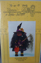 "Halloween Wood based Pattern for Gruesome Gertie 30"" Doll Folkart - $5.00"
