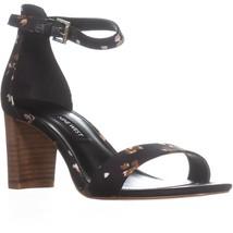 Nine West Pruce Ankle Strap Sandals, Black Multi - $31.99