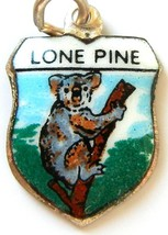 Lone Pine Koala Australia Enamel Travel Shield ... - $29.95