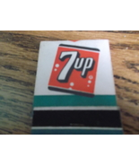 7Up and Like Advertising Matchbook Full - $13.00