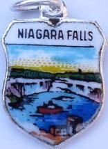NIAGARA FALLS CANADA Maid of Mist Vintage Silve... - $24.95
