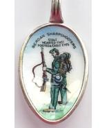 CIVIL WAR Berdan Sharpshooters Silver pl Enamel Collectible Souvenir Spo... - $169.95