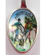 CIVIL WAR Robert E. Lee & Stonewall Jackson Chancellorsville Enamel SPOO... - $169.95