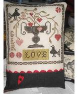 Li'l Abby - Love cross stitch chart Abby Rose Designs - $7.20