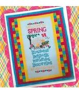 Welcome To Spring  cross stitch chart Cherry Hill Stitchery - $7.20
