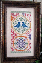 A Quaker Spring cross stitch chart From The Heart  - $7.20