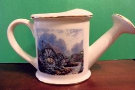 Thomas Kinkade porcelain flower watering pot (u... - $20.00