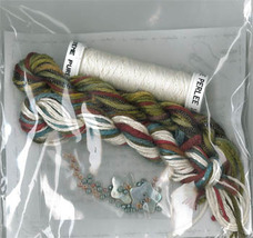 THREAD PACK for Stitchers Needlebook cross stitch chart Jeanette Douglas... - $45.00