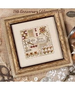 Take Time To Stitch 15th Year Celebration cross... - $10.80