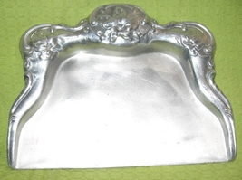 VTG Pressed Aluminum Table Crumb Catcher/Pan- Art Deco - $10.00