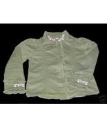 NWT Gymboree Tea Garden Embroidered Jacket Top Sz 4 - $17.99
