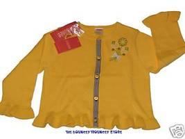 Nwt Gymboree Prep Club Cardigan Flower Sweater Sz 3 3T - $18.99