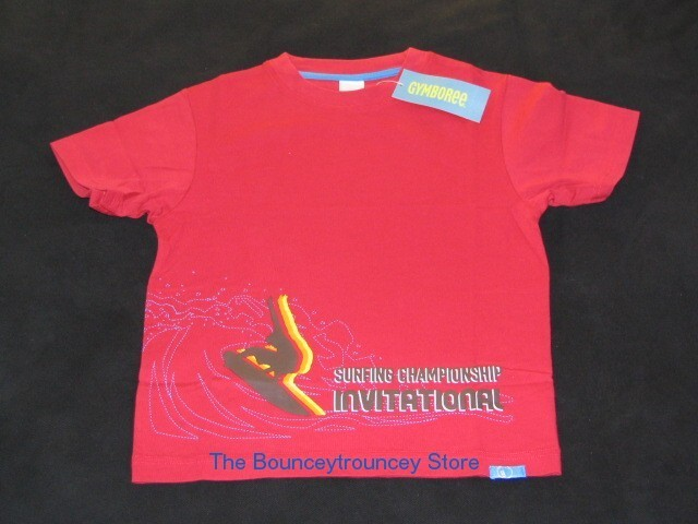 NWT Gymboree Boys Surf Camp T Tee Top Sz 5