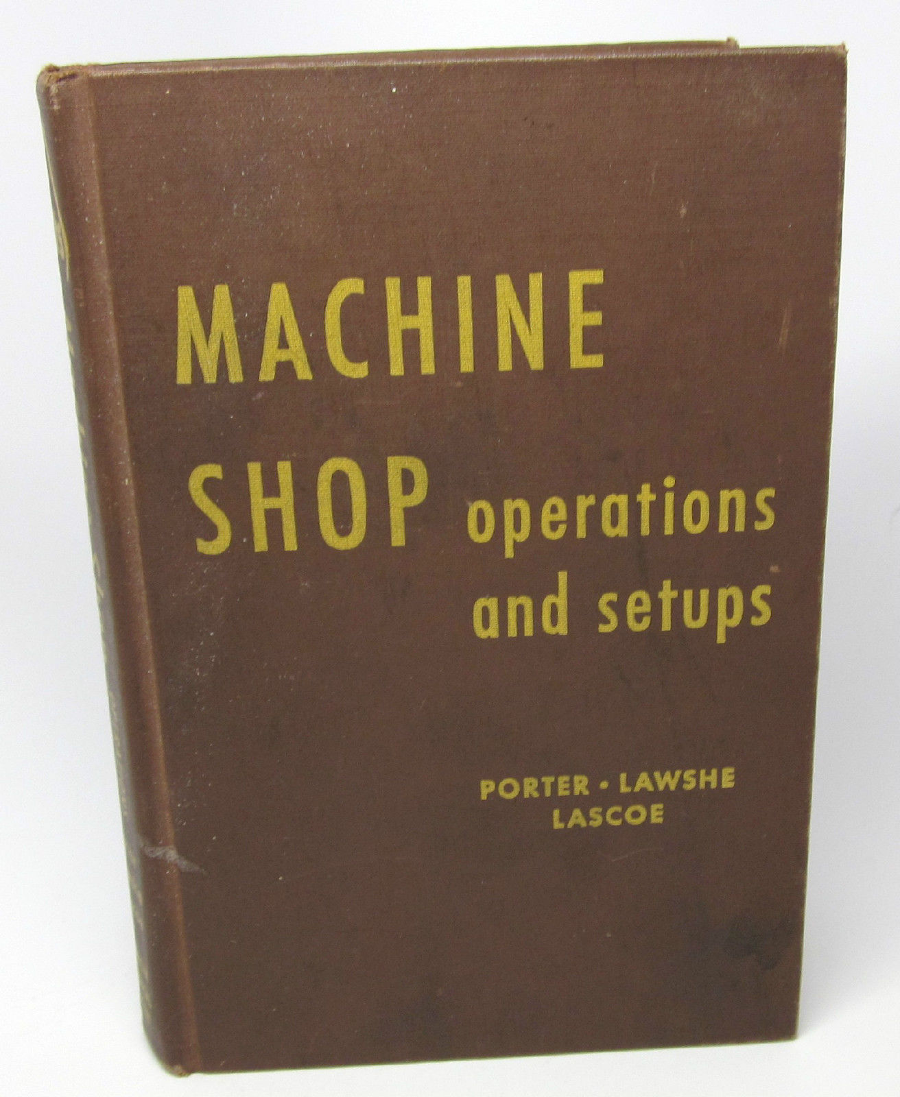 machine shop education