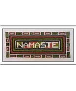 Namaste cross stitch chart The Stitcherhood - $8.10
