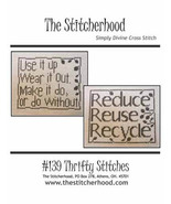 Thrifty Stitches cross stitch chart The Stitcherhood - $8.10