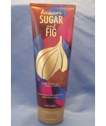 Bath and Body Works New Brown Sugar and Fig Triple Moisture Body Cre... - $9.95
