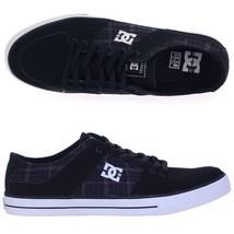 Dc Shoes Men's Pure Zero Skater Sb Sneakers/Shoes New $65 Black/Black Plaid - $42.99