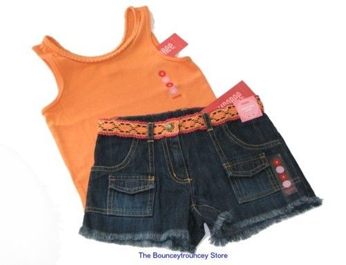 NWT Gymboree Island Getaway 2 Pc Cargo Short & Top Sz 4