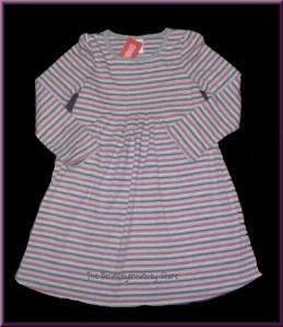 NWT Gymboree Classroom Kitty STRIPE PLEATED DRESS Sz 6