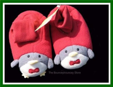NWT Gymboree Boy Girl SNOW DAYS Penguin Slippers 03 04