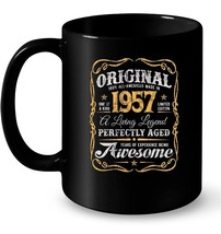 Vintage Original Legends Made In 1957 Ceramic Mug 61st Birthday - $13.99+