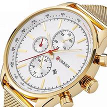 CURREN 8227 Business Men Watch Luxury Sport Metal Quartz Wrist Watch - $20.10