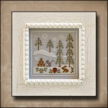 Snowy Friends #4 cross stitch chart Country Cottage Needlework - $5.40