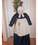 Vacuum Cleaner Cover Primitive Amish Faceless Folkart Grandma for  Overs... - $95.00