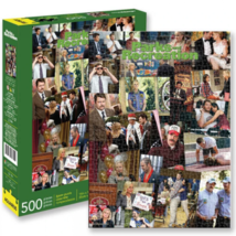 Parks and Recreation Collage 500 Piece Puzzle Multi-Color - $24.98