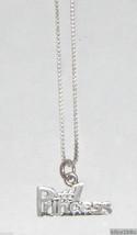 Sterling Silver Princess Necklace - #1 PRINCESS - $45.00