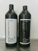 Matrix Total Results The Re-Bond Shampoo ,Conditioner 33.8oz Liter- SELECT - $34.28+