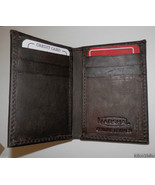Genuine Leather Men's Bi-Fold Wallet #71 BROWN - $12.00
